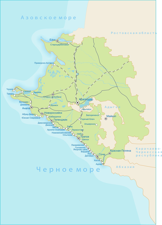 Отдых на Черном море 2017, курорты Краснодарского края ...