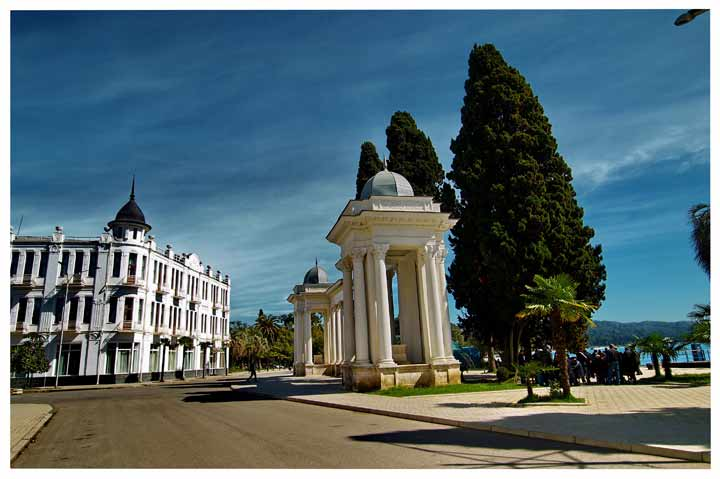 абхазия фото город сухум